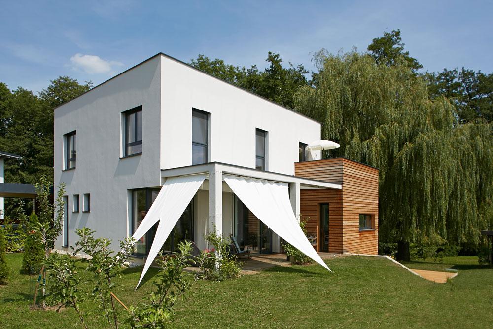 Ziegel-Massivhaus mit FLACHDACH in Sinabelkirchen