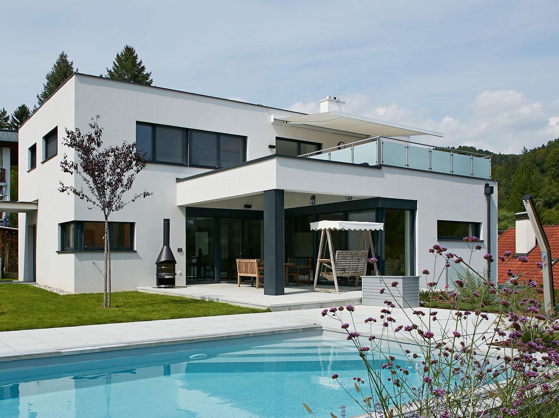 Fesselnde Flachdachhaus Galerie Von