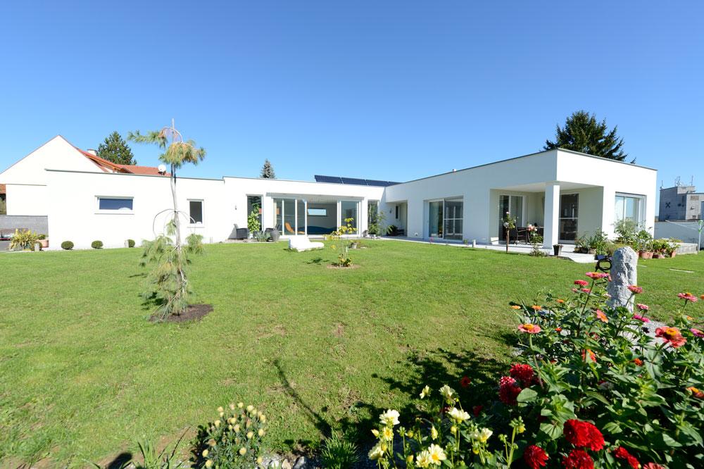 Ziegel-Massivhaus mit FLACHDACH in Hartberg