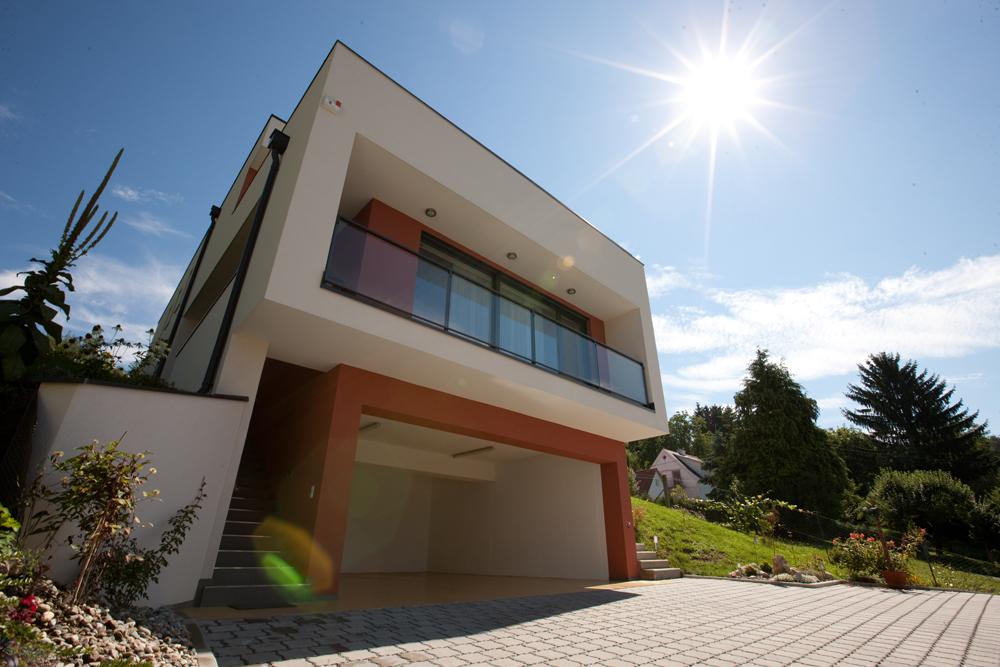 Ziegel-Massivhaus mit FLACHDACH in Fernitz