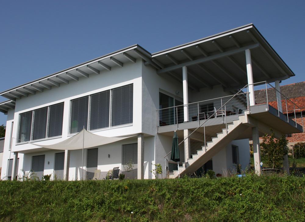 Ziegel-Massivhaus mit PULTDACH in Bruck an der Mur