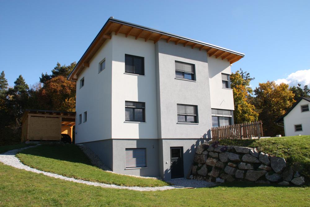 Ziegel-Massivhaus mit PULTDACH in Feldbach