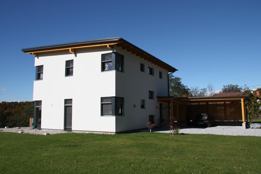 Pultdachhaus in feldbach 2 lieb massivhaus for Massivhaus katalog