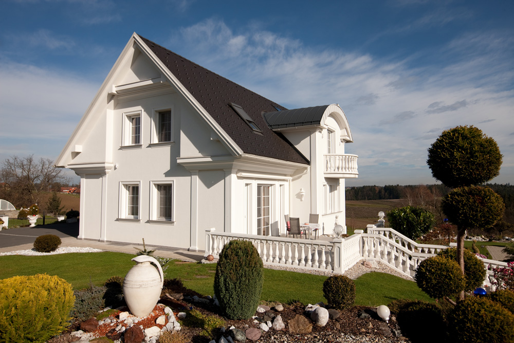 Satteldachhaus in kapfenberg lieb massivhaus for Massivhaus katalog
