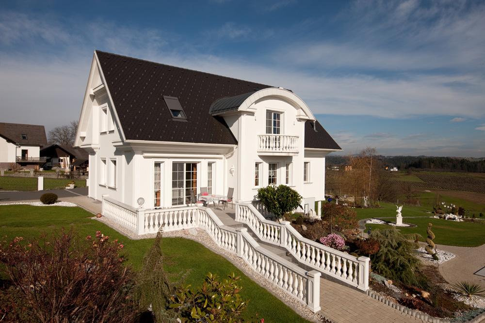 Ziegel-Massivhaus mit SATTELDACH in Kapfenberg