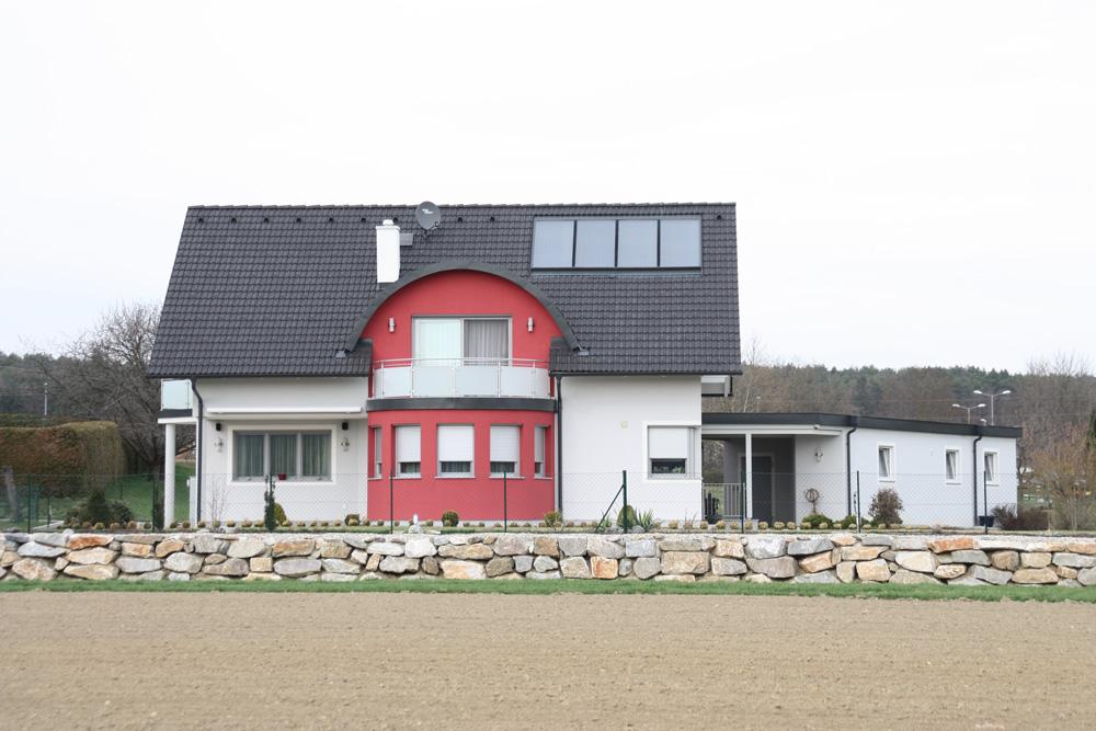 Ziegel-Massivhaus mit SATTELDACH in Leoben