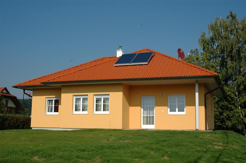Ziegel-Massivhaus mit WALMDACH in Loipersdorf