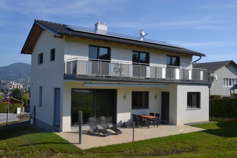 Ziegel massivhaus mit satteldach in f rstenfeld lieb for Massivhaus katalog