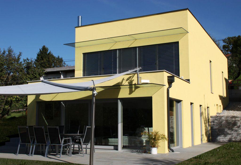 Ziegel-Massivhaus mit FLACHDACH in Großwilfersdorf