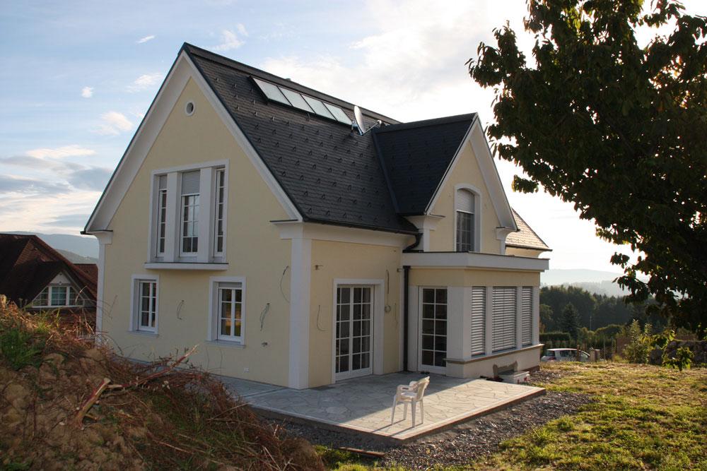 Massivhaus satteldach  Ziegel-Massivhaus mit SATTELDACH in Kleinsemmering | Lieb Massivhaus