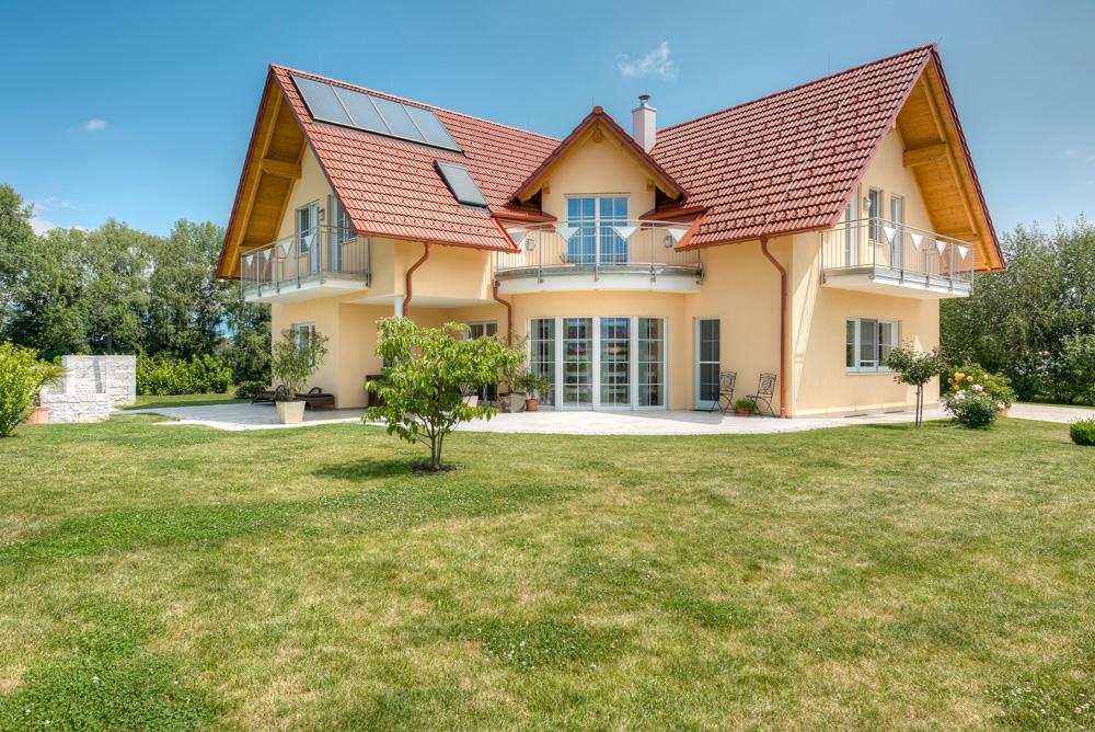 Satteldachhaus in Kumberg Lieb Massivhaus